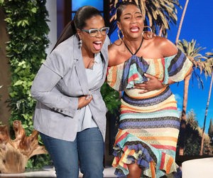Tiffany Haddish Bursts Into Tears When Oprah Surprises Her on 'Ellen'