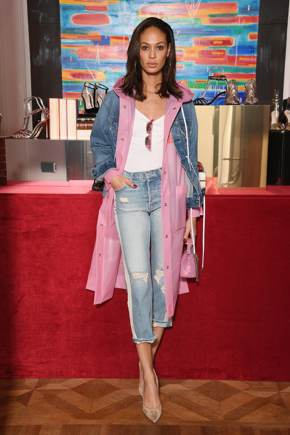 Friday Fits The Best Celebrity Fashion Of Week Rudyk Torch Tunik Women Navy Misty L Gettyimages 923425084 Master