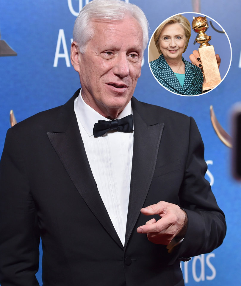 James Woods Says HFPA Blacklisted Him Over Hillary Clinton