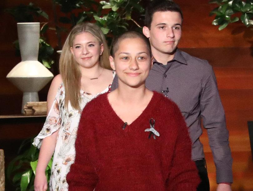 Parkland Florida Shooting Survivor Cameron Kasky Mocks 'Crisis Actor' Conspiracy Theory on 'Ellen'