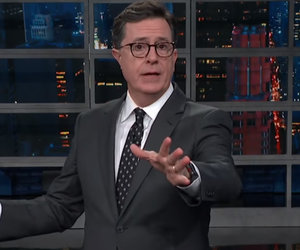Stephen Colbert Unloads on Donald Trump and Marco Rubio Over Gun Control