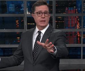 Stephen Colbert Unloads on Donald Trump and Marco Rubio Over Gun Control