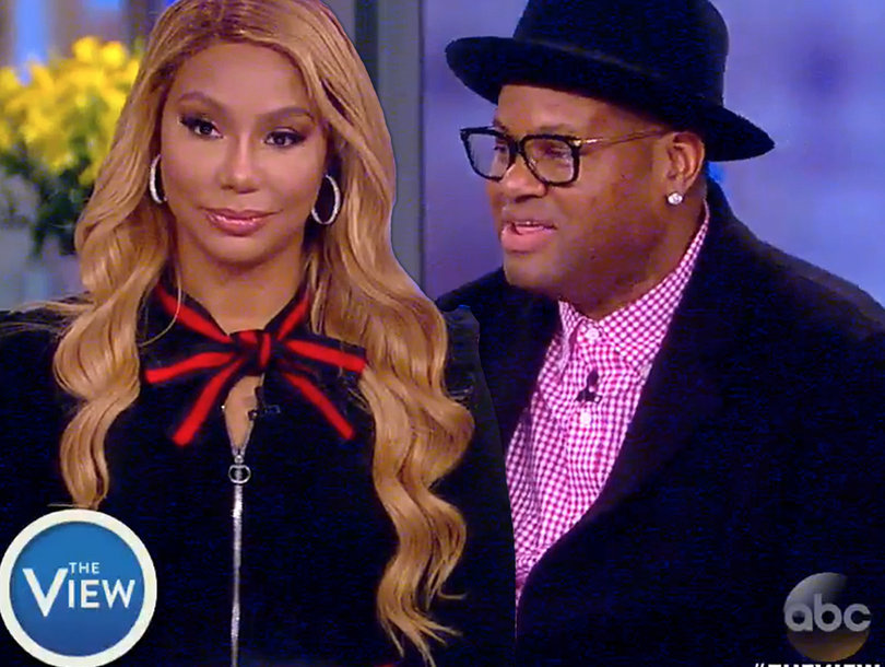 Tamar Braxton Clears Up Vince's Baby Drama on 'The View'
