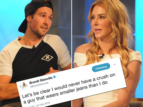 Brandi Glanville Makes It Very Clear She Didn't Have a 'Crush' on James Maslow