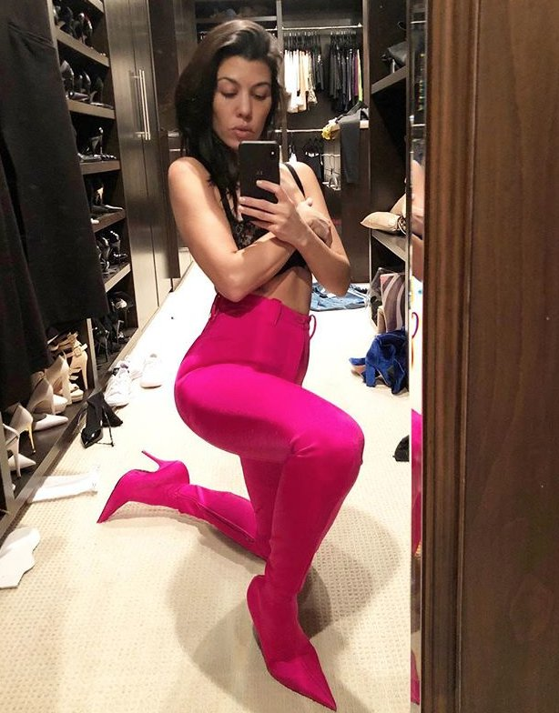 Kourtney's Closet Selfie and More of the Week's Must-See Instagram Photos