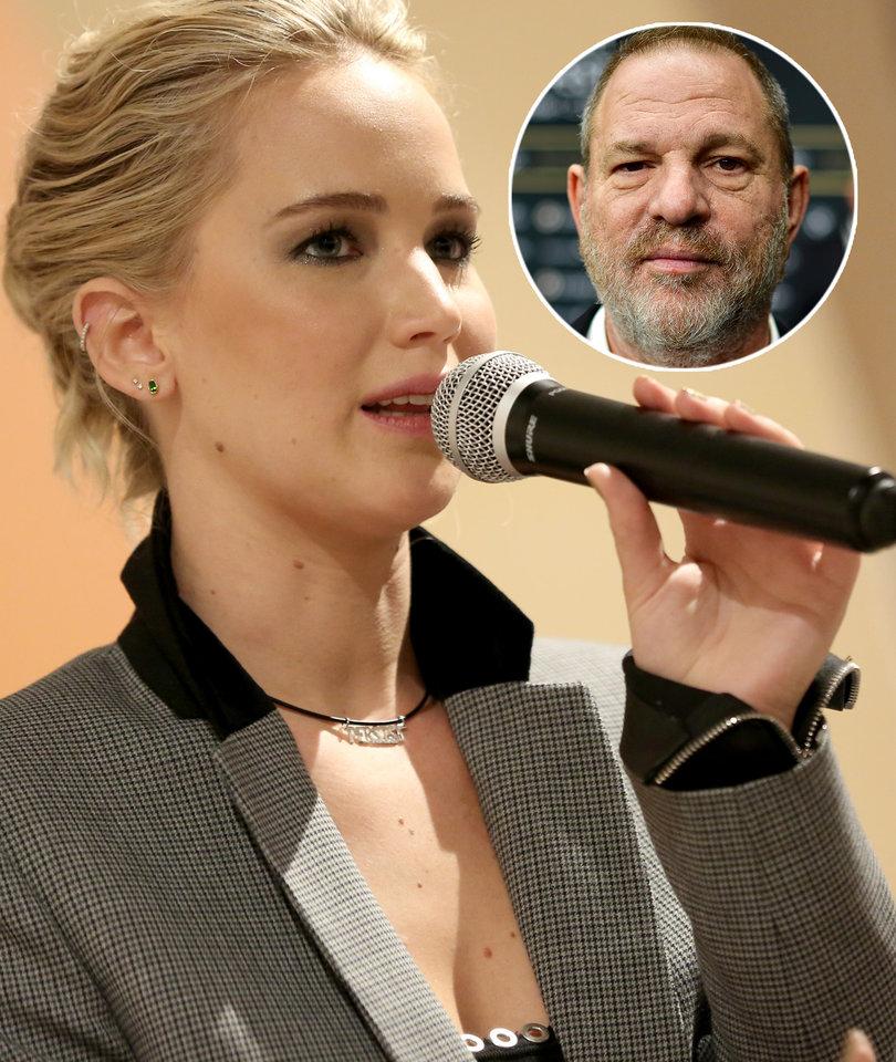 Jennifer Lawrence 'Wanted to Kill' Harvey Weinstein