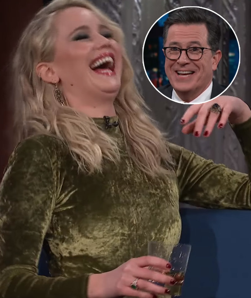 Here's What Happened After Jennifer Lawrence Got Tipsy on 'The Late Show'