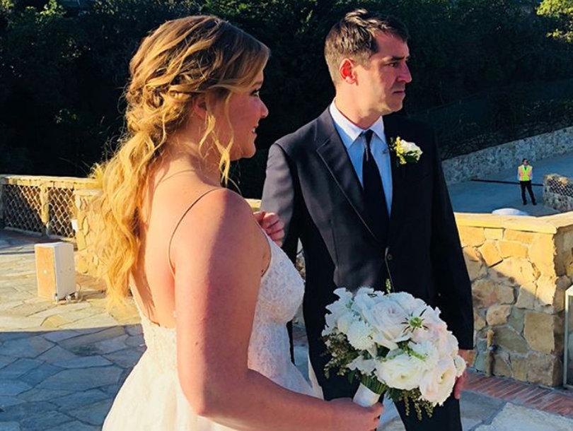 Amy Schumer Says Her Wedding Vows Blew