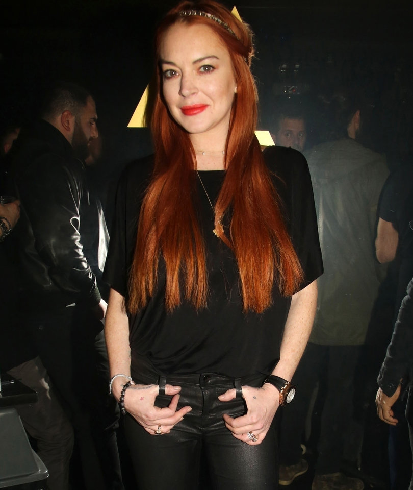 Lindsay Lohan Opens Nightclub in Athens, Greece