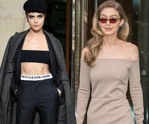 Celebrity Sightings at Paris Fashion Week
