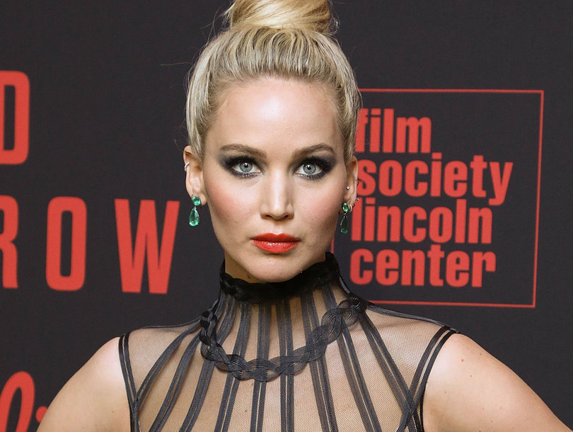 Why Jennifer Lawrence Looked Like 'A Goth Dream on Crack' at 'Red Sparrow' Premiere