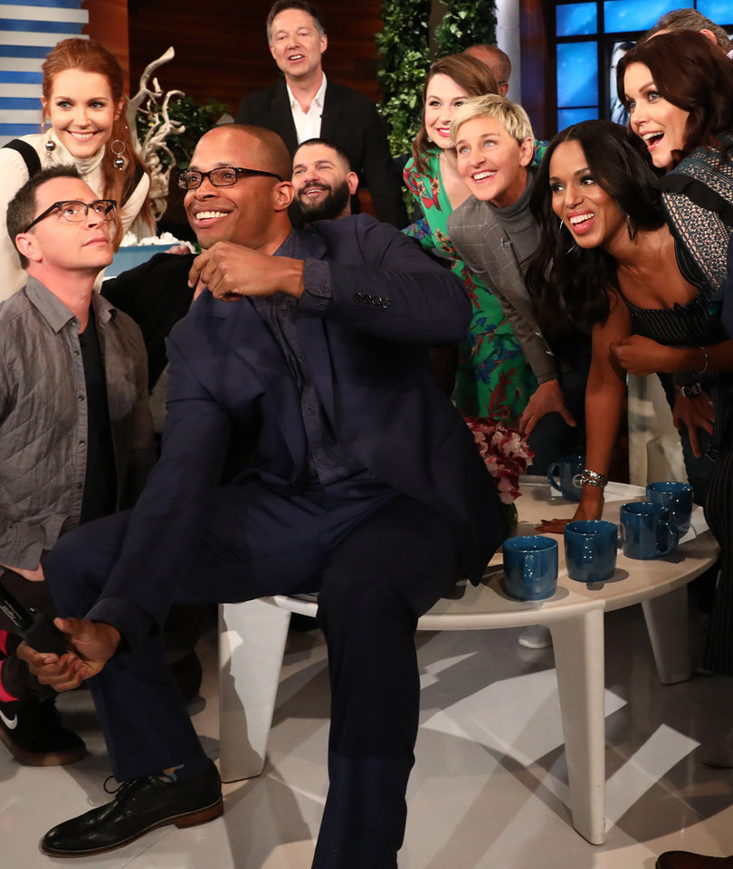 Ellen Finds Out Who's the Most Scandalous Star on 'Scandal'