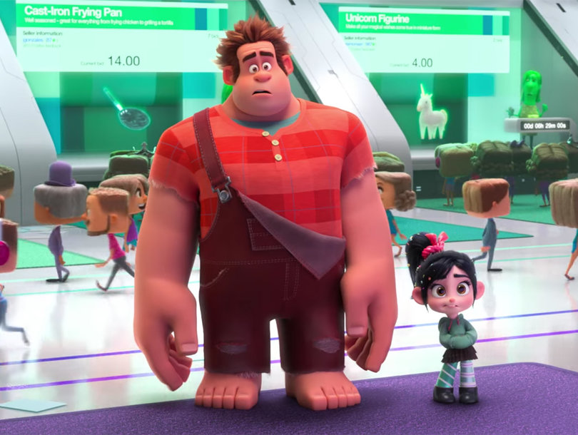 Wreck-It Ralph Goes Online In First 'Ralph Breaks the Internet: Wreck-It Ralph 2' Trailer