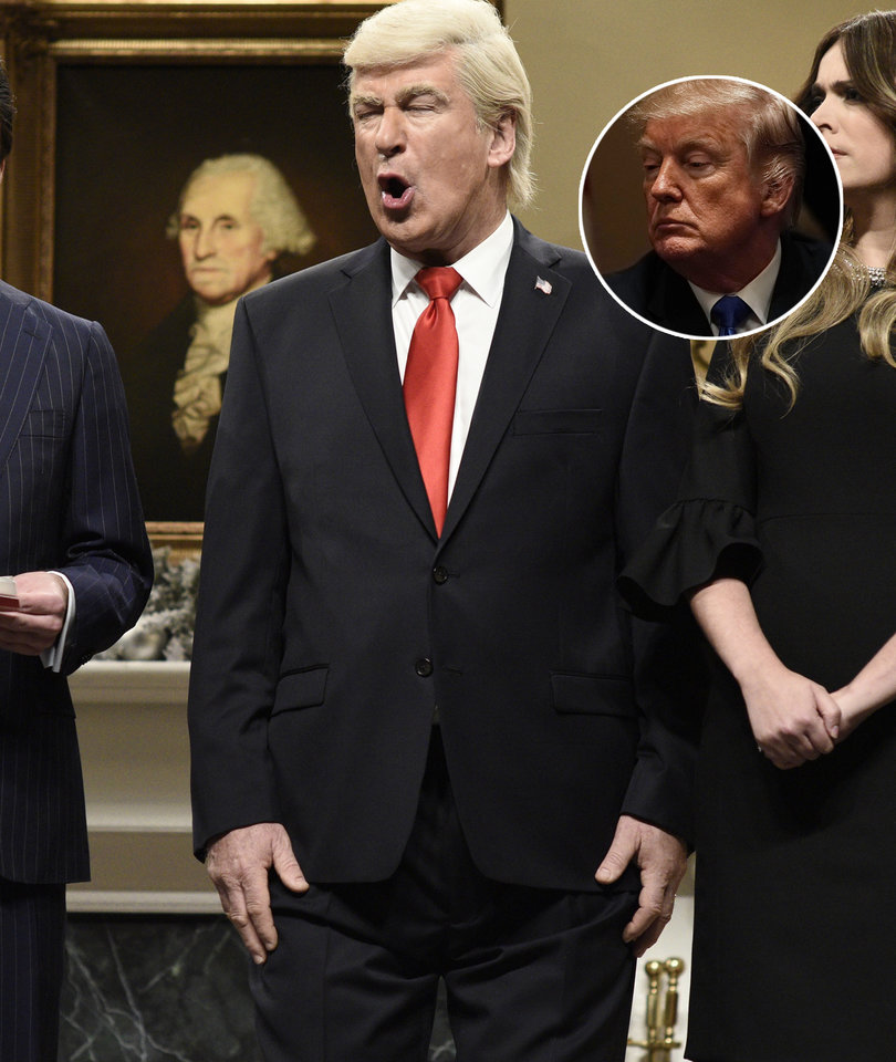 Alec Baldwin Says It's 'Agony' to Portray Trump on 'SNL'