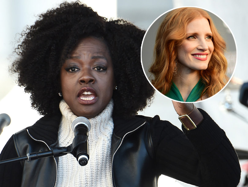 Viola Davis Calls for More White Women to 'Stand In Solidarity' And Follow Jessica Chastain's Example