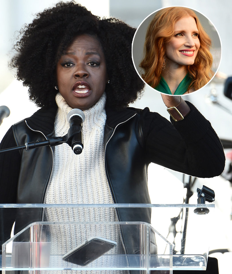 Viola Davis Calls for More White Women to Follow Jessica Chastain's Example