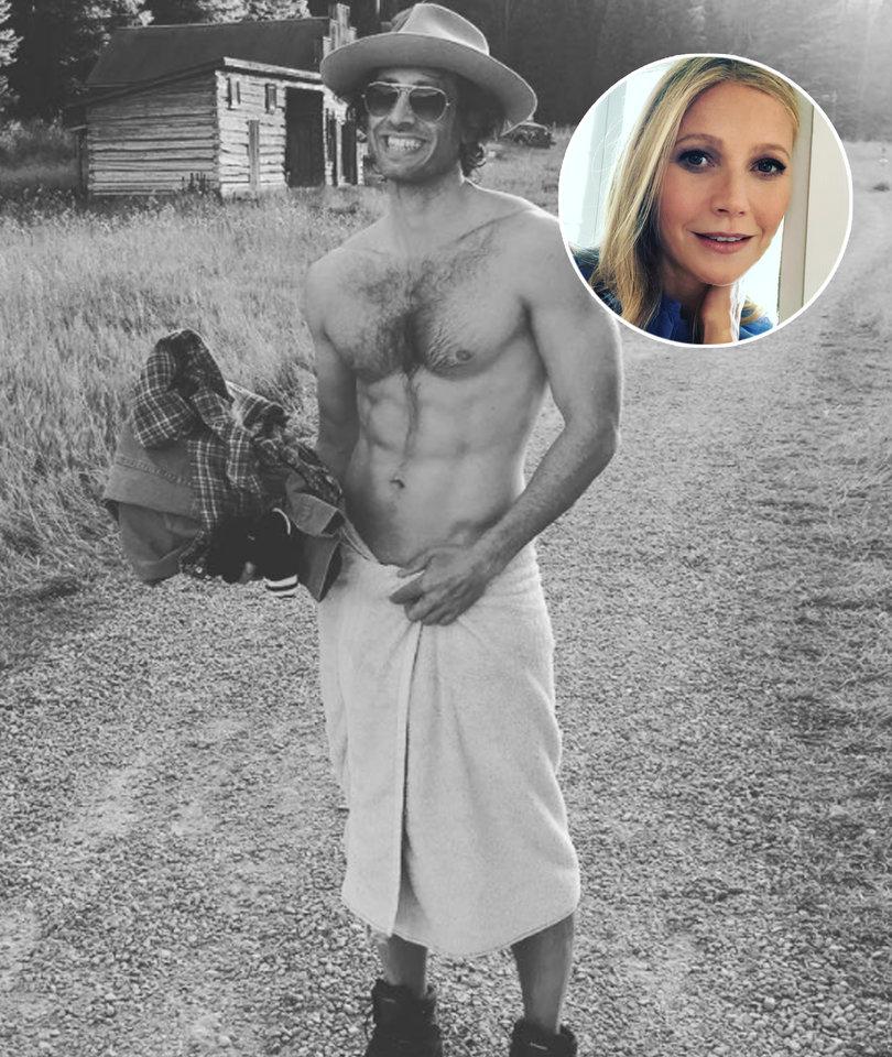 Gwyneth Paltrow Wishes Ripped Fiance Happy Birthday