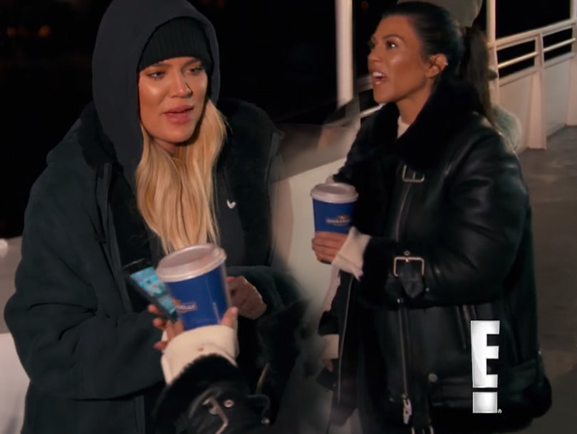 Kourtney Calls Khloe a 'F-cking Pregnant Whore' During Explosive Argument