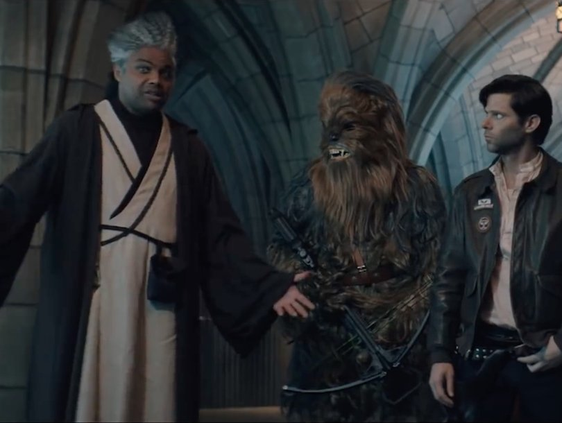 'SNL' Host Charles Barkley Can't Understand a Damn Thing in 'Star Wars' Sketch Cut for Time