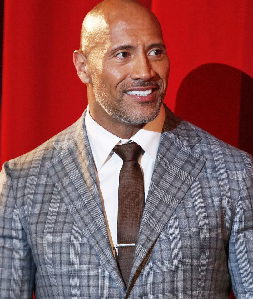 The Rock Proudly Accepts Razzie for 'Baywatch' on Oscars Sunday