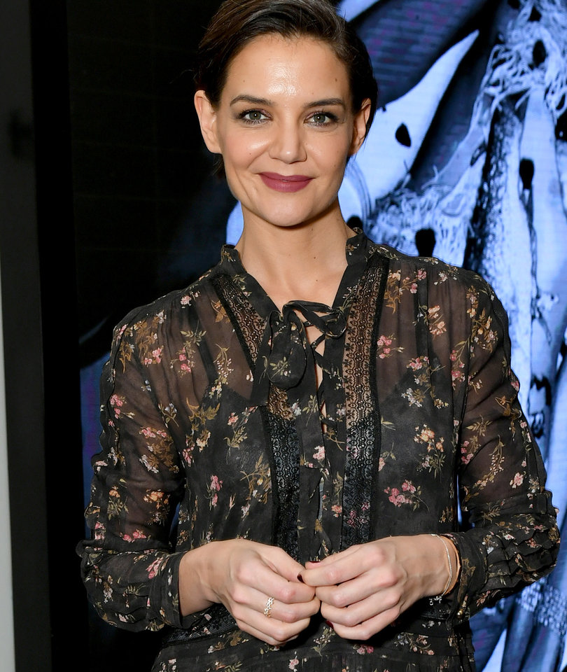 Here's What Katie Holmes and Suri Did on Oscar Sunday