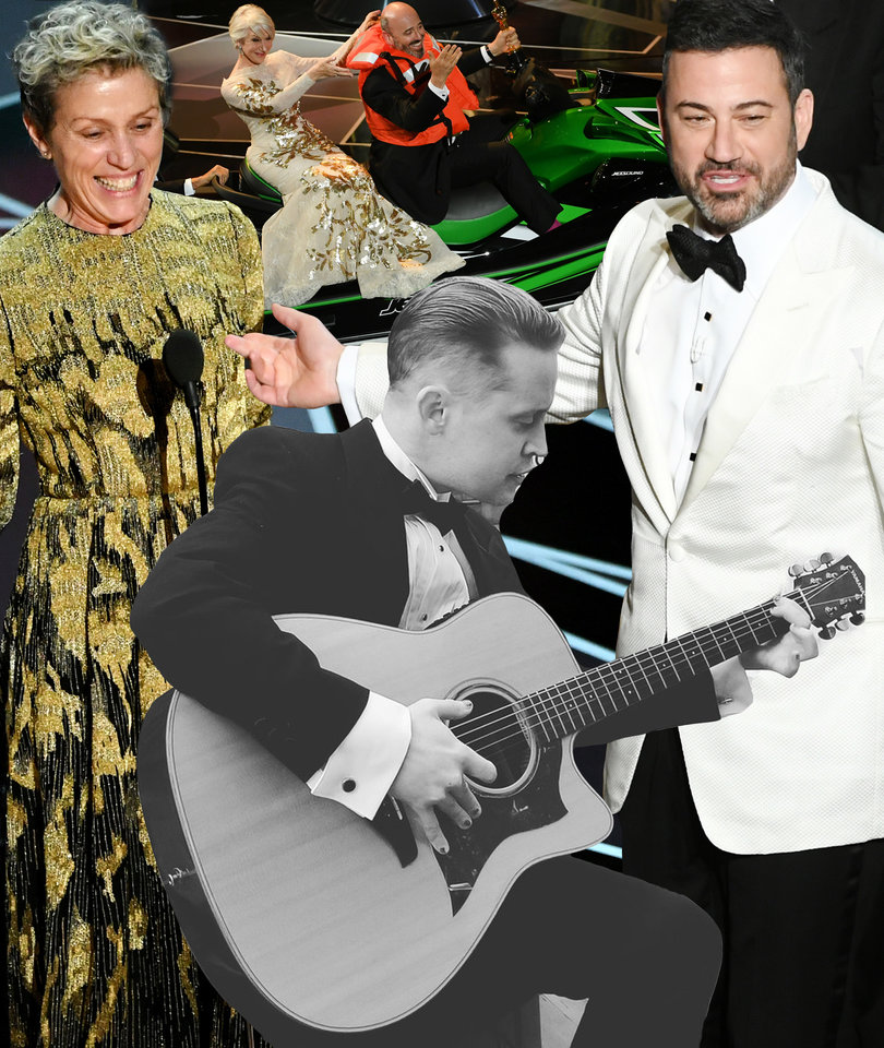 Oscars 2018: A Full Breakdown of This Year's Biggest OMG Moments