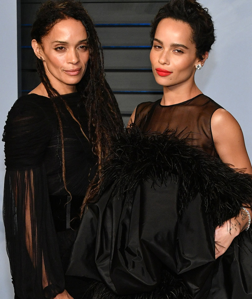 Zoe Kravitz and Lisa Bonet Have Mother-Daughter Date at Vanity Fair Party
