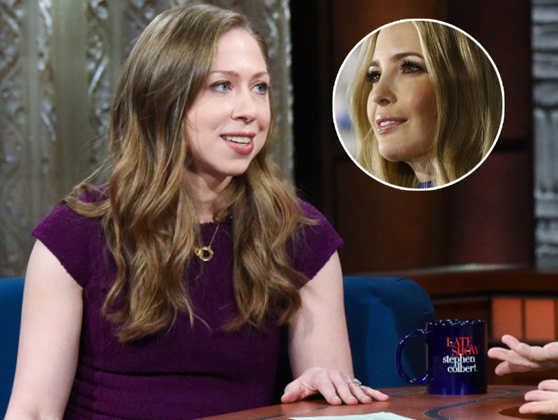 Chelsea Says Ivanka's Fair Game for Criticism and POTUS 'Thrives on Anxiety'