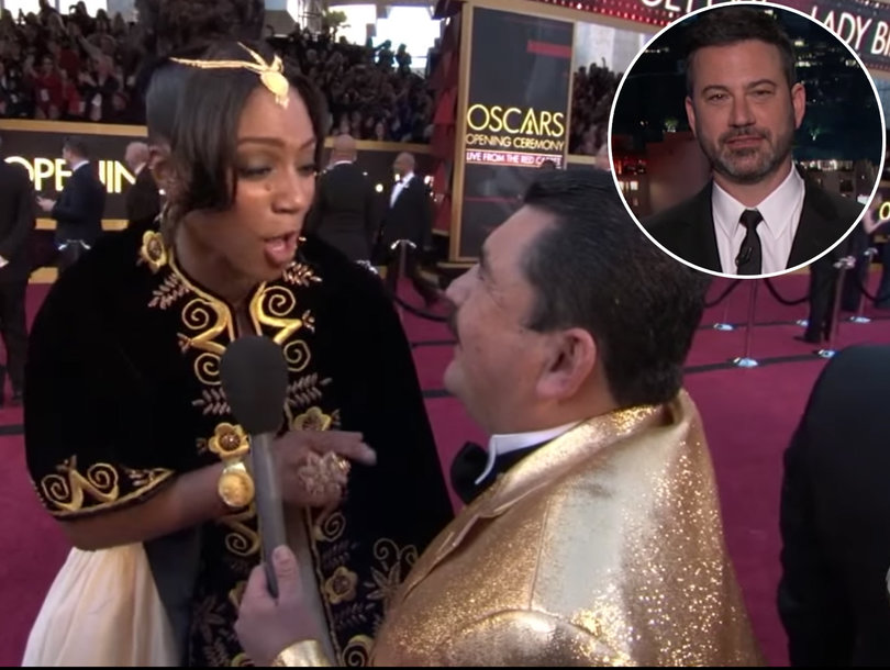 What Happened When Jimmy Kimmel Unleashed Drunk Guillermo on the Oscars Red Carpet