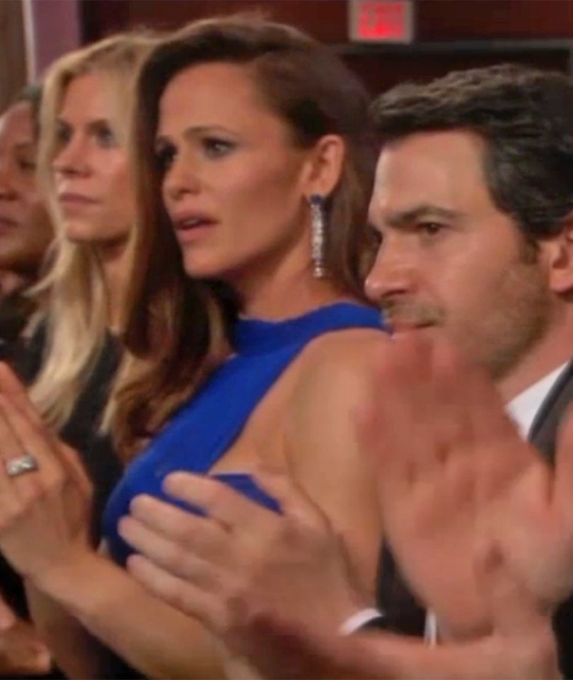 Jennifer Garner Adds Deep Thoughts to Her Viral Oscars Meme