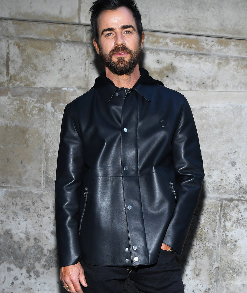 Justin Theroux Attends First Public Event Since Announcing Aniston Split