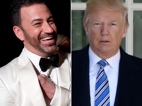 Jimmy Kimmel Slams Trump After POTUS Celebrates Low Oscar Ratings on Twitter
