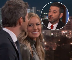 Jimmy Kimmel Jabs 'Bachelor' Couple Arie and Lauren