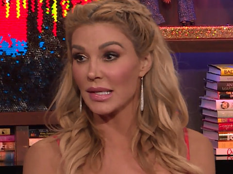 Brandi Glanville Dishes on 'Evil Genius' Omarosa and 'RHOBH'