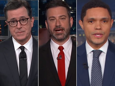 Late-Night TV Struggles to Keep Up With White House Chaos