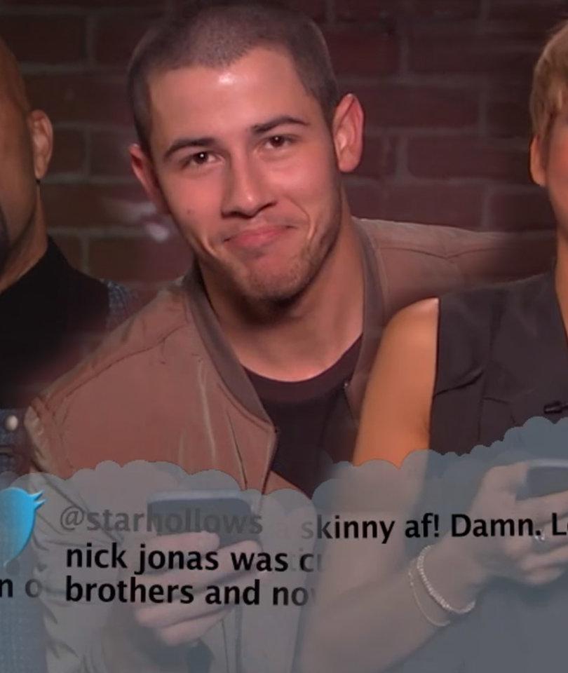 Jimmy Kimmel's 'Mean Tweets' Burn Zendaya and Nick Jonas