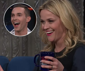 Reese Witherspoon and Adam Rippon Become BFFs on 'The Late Show'