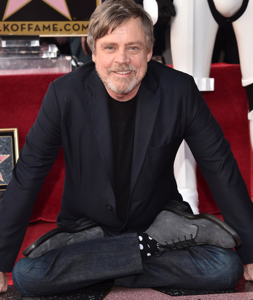 'Star Wars' Star Mark Hamill Honored with Star on the Walk of Fame
