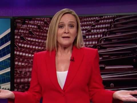 Why Sam Bee Is Encouraging NRA Members to Join Scientology Instead