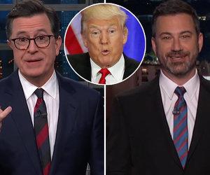 How Colbert & Kimmel Reacted to Trump Agreeing to Meet Kim Jong-un
