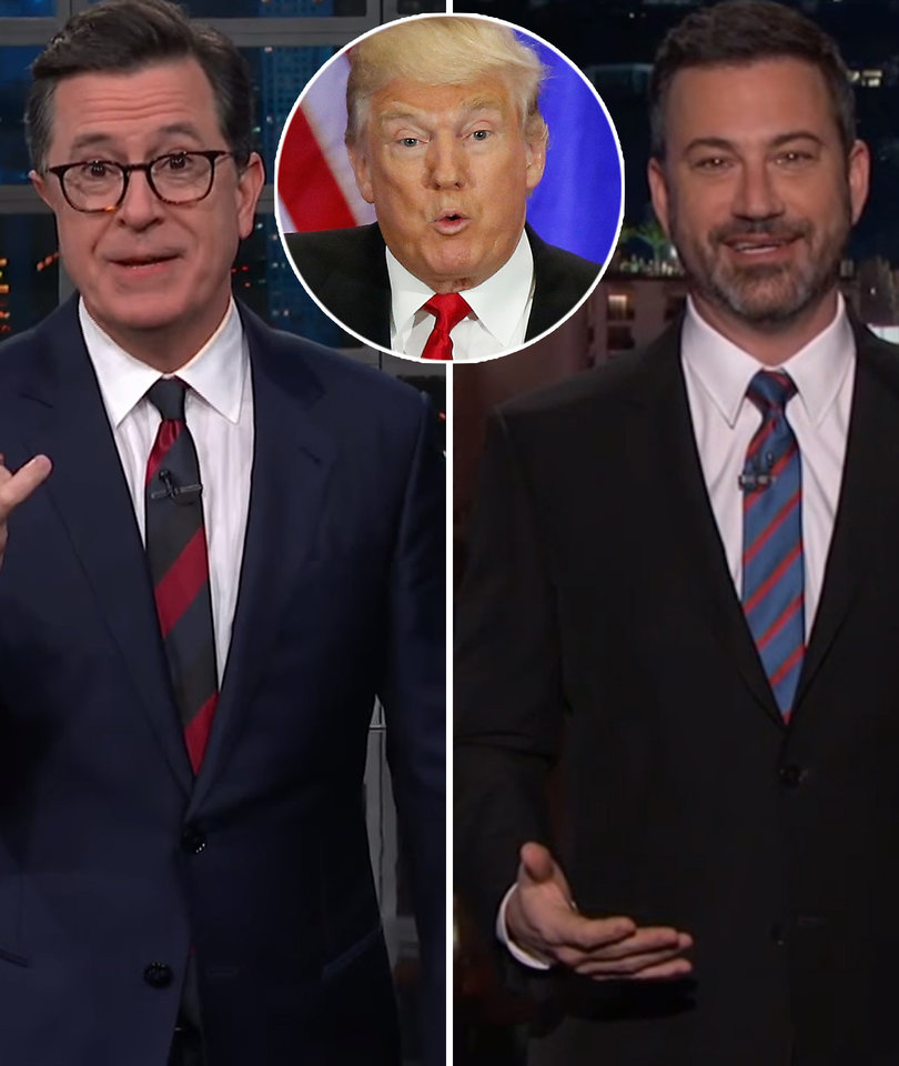 How Colbert & Kimmel Reacted to Trump Agreeing to Meet Kim Jong-un