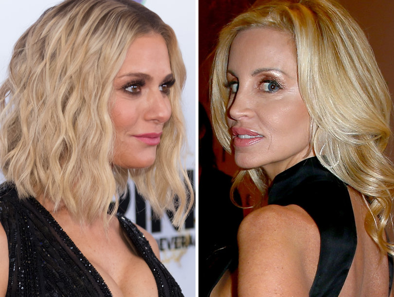 Dorit Kemsley and Camille Grammer Feud Over Unaired 'RHOBH' Scene