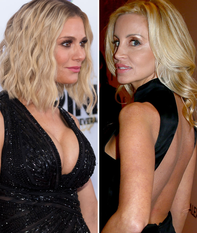 Dorit Kemsley, Camille Grammer Feud Over Unaired 'RHOBH' Scene
