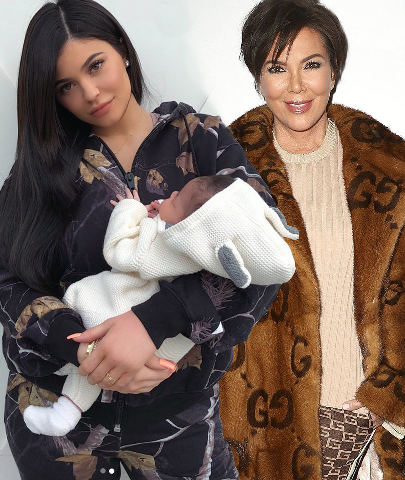 Kris Jenner Shuts Down Rumors Tyga Is Kylie Jenner's Baby Daddy