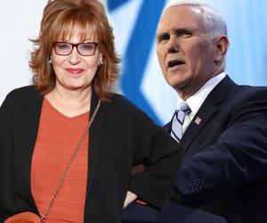 Mike Pence Forgives Joy Behar for 'Mental Illness' Joke