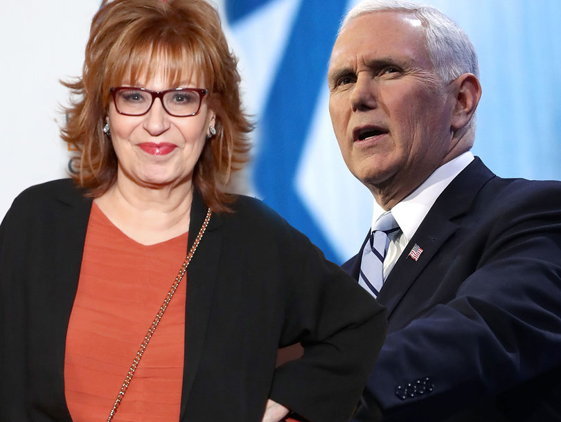 Mike Pence Forgives Joy Behar for 'Mental Illness' Joke About His Faith After She Called to Apologize