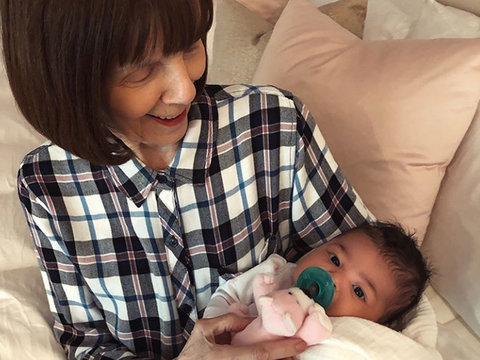 Kylie Jenner Shares Sweet Photo of Stormi and Great-Grandma MJ