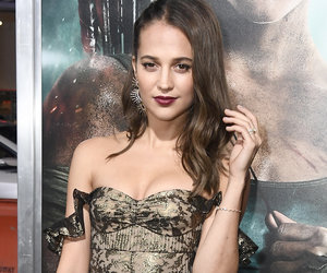 Alicia Vikander Wins the Red Carpet at 'Tomb Raider' Premiere