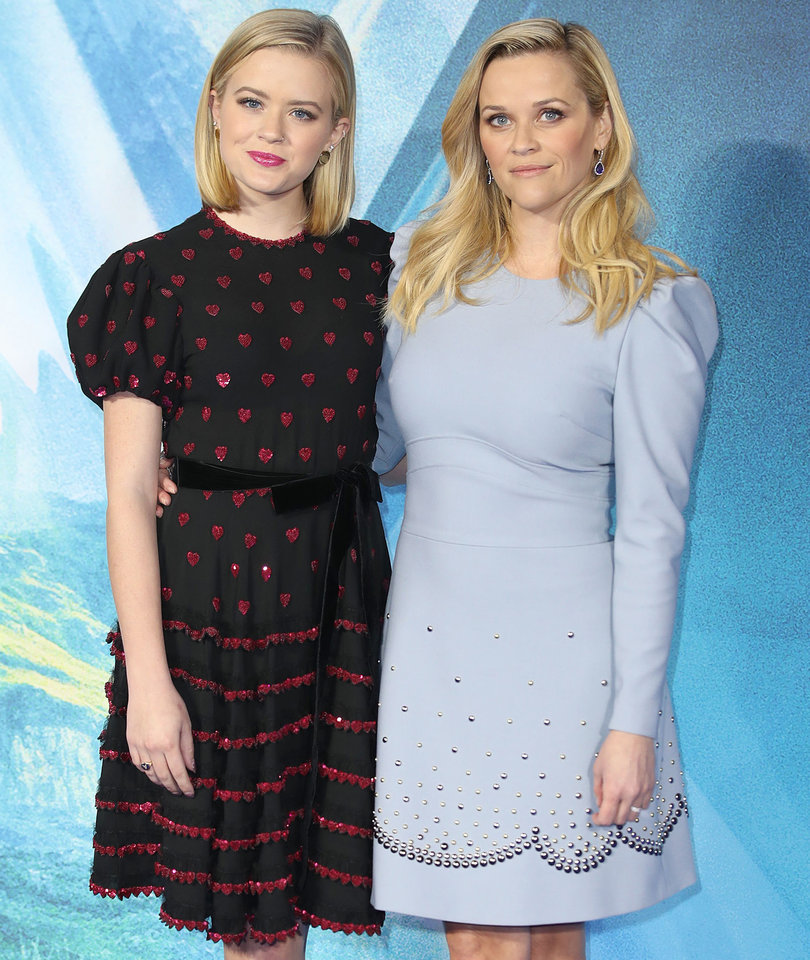 Ava Phillippe Joins Mama Reese at European Premiere for 'A Wrinkle in Time'