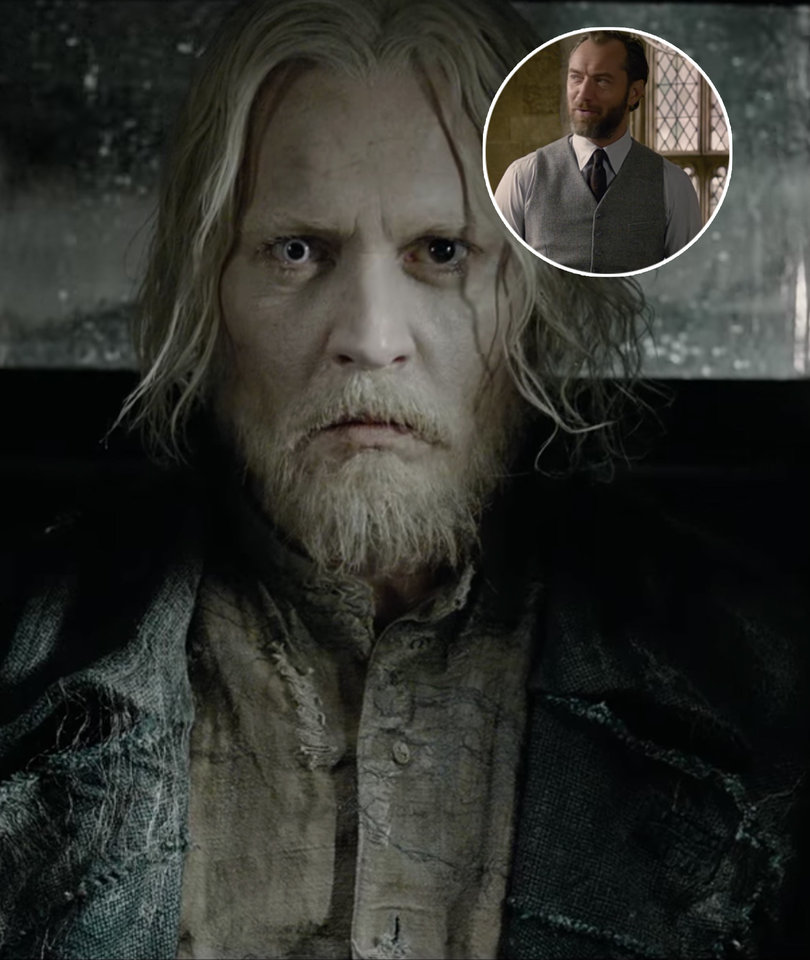 'Fantastic Beasts' Sequel Trailer Mixes Johnny Depp, Jude Law & Hogwarts